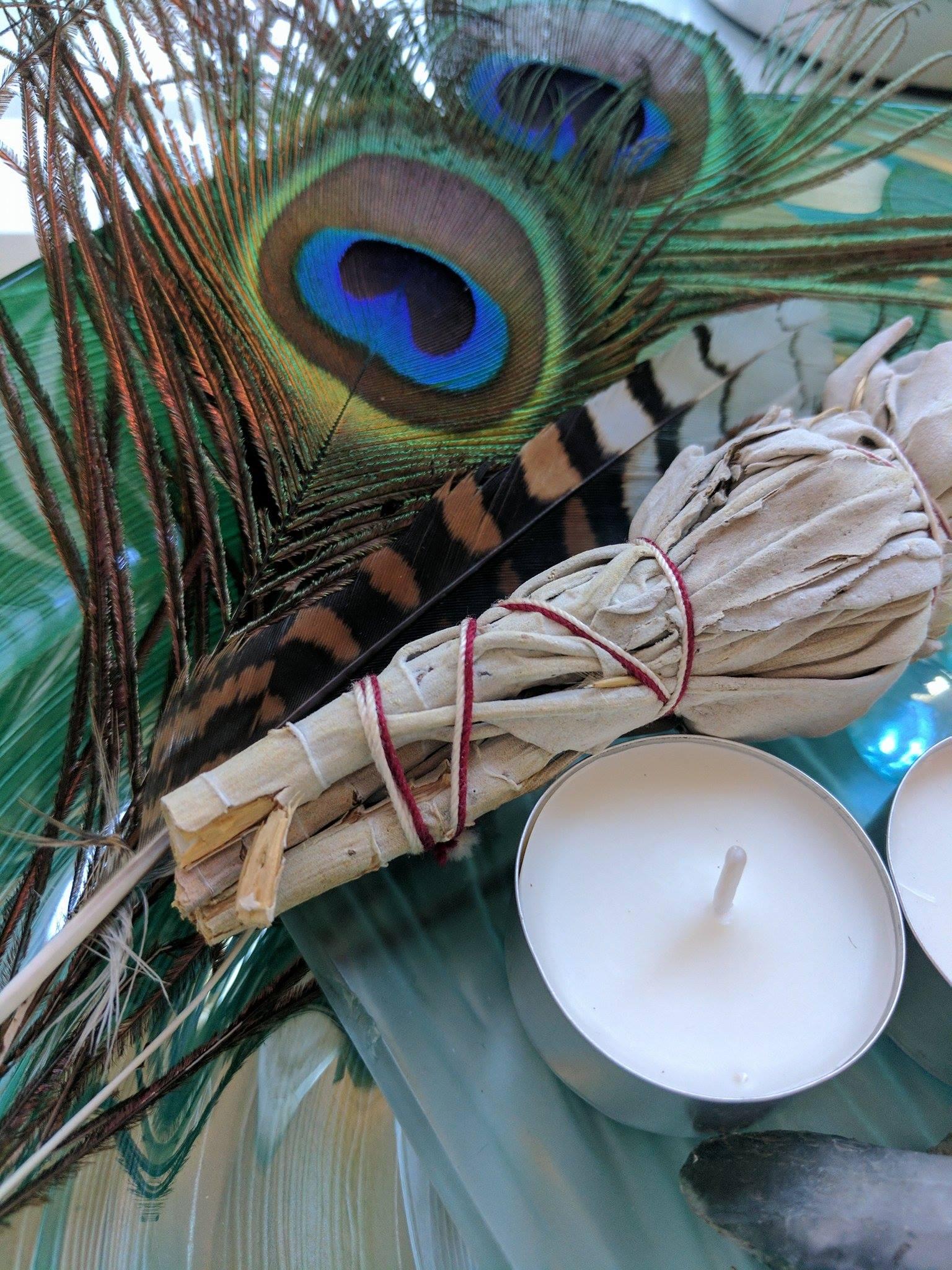 smudging, eviemcrae, gaia's light, reiki, healing