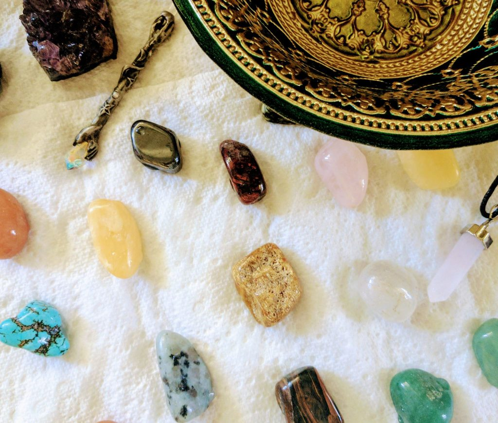 Crystal Cleanse under the Full Moon