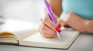 Give trauma a voice through writing
